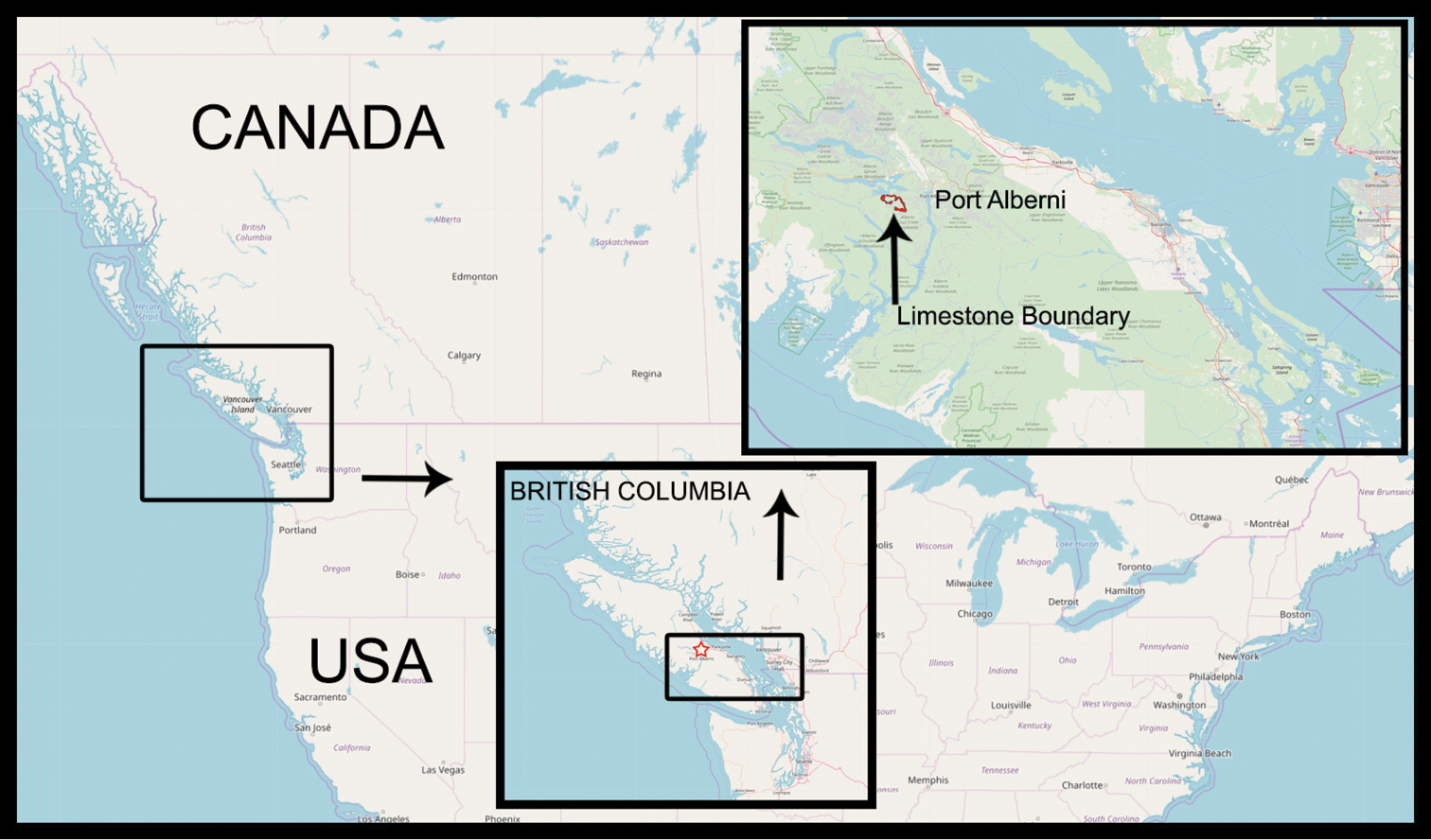Calgary Canada Map Of North America.The Cave Dwelling Dipluran Diplura Campodeidae On The Edge Of The